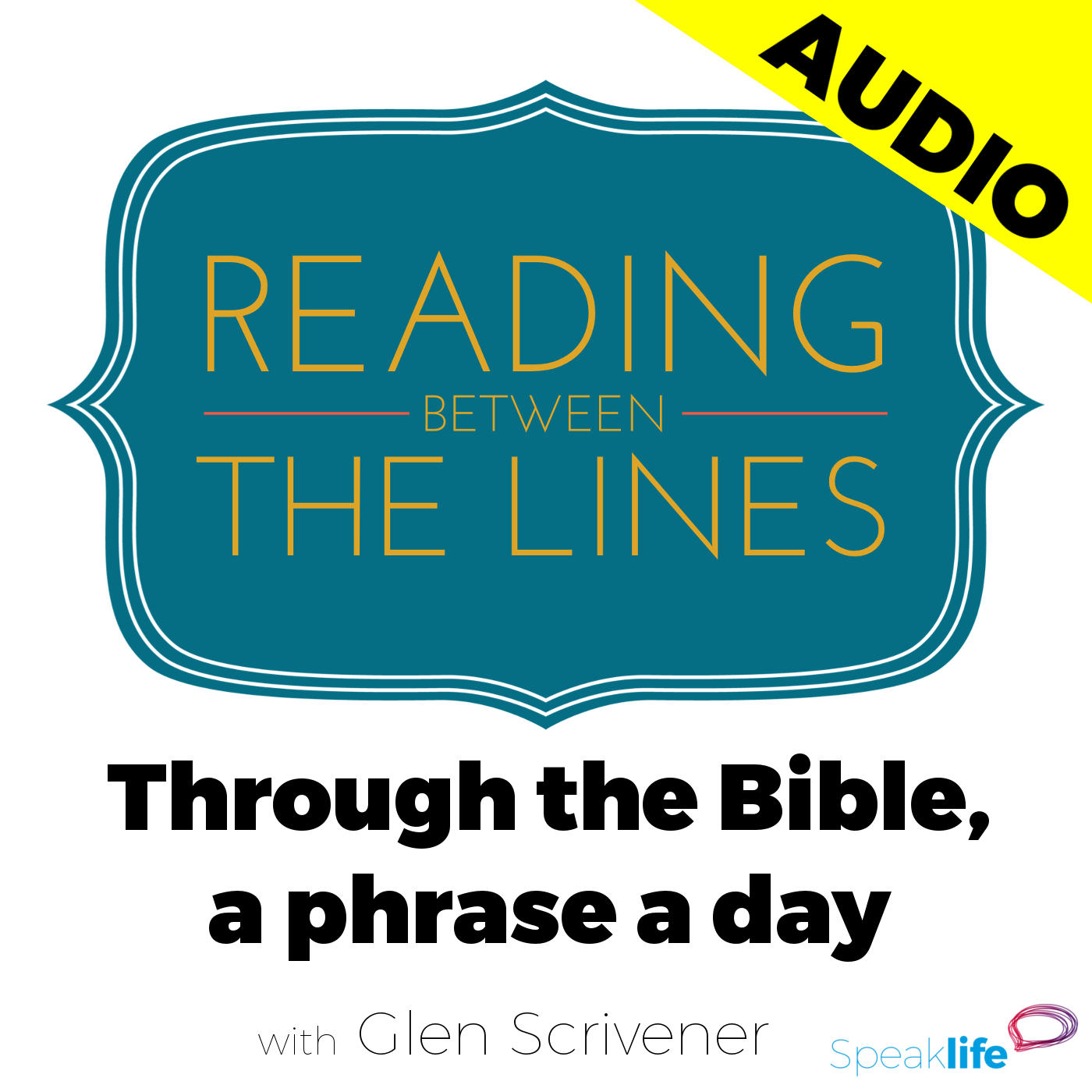 speak life reading between the lines through the bible a phrase