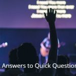 Quick Answers to Quick Questions 1/4 – TEP105