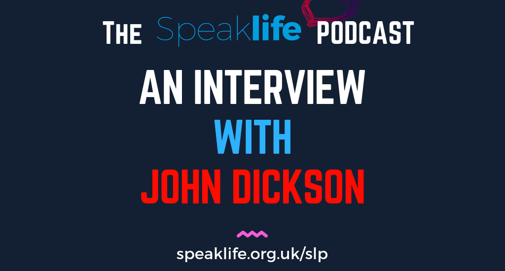 Interview With John Dickson – SLP217