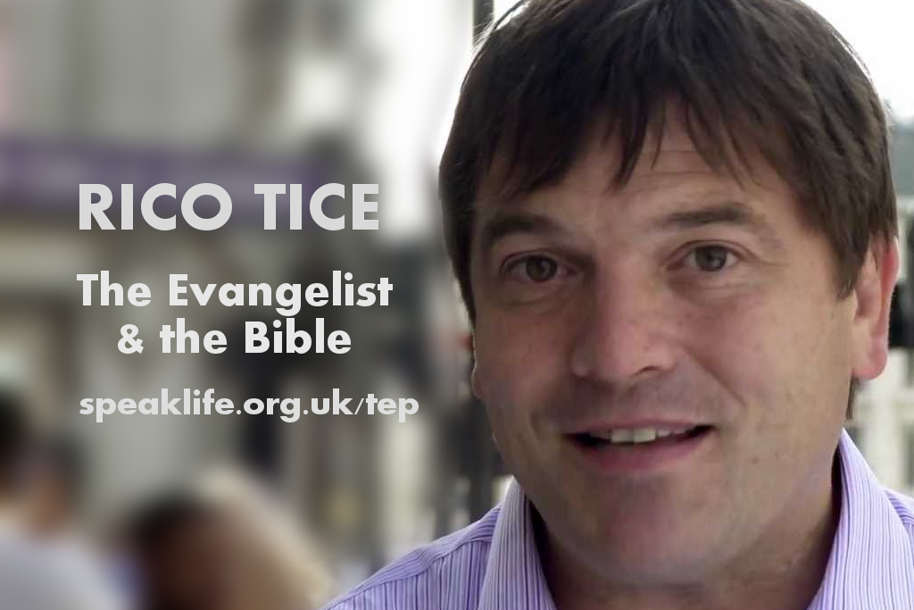 The Evangelist and the Bible: Rico Tice – TEP144