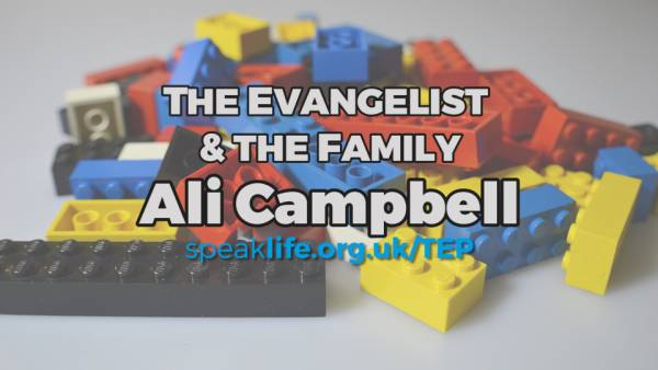 The Evangelist and the Family: Ali Campbell – TEP147