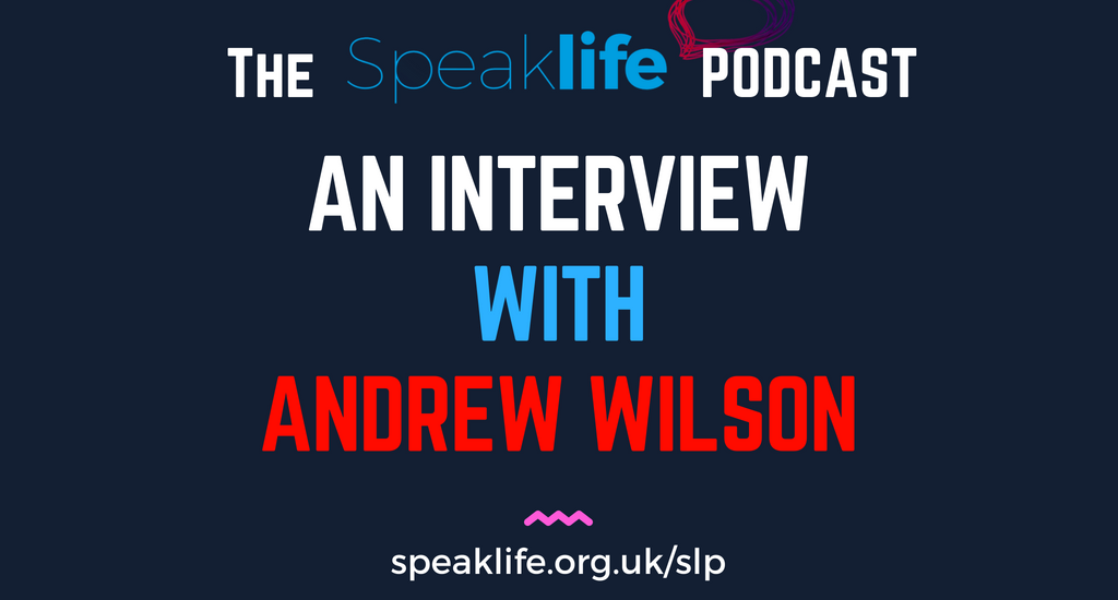 Interview With Andrew Wilson LIVEcast – SLP209