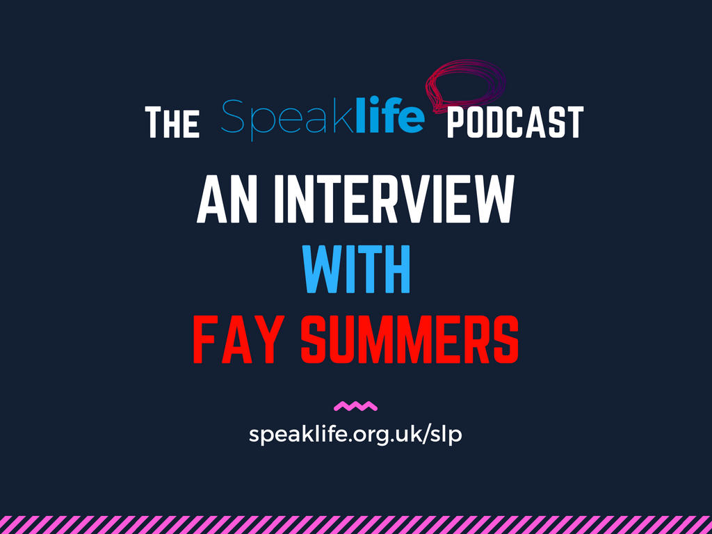 Interview With Fay Summers LIVEcast – SLP210