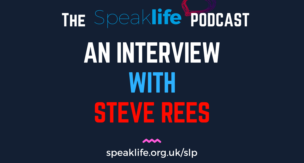 Interview With Steve Rees LIVEcast – SLP216