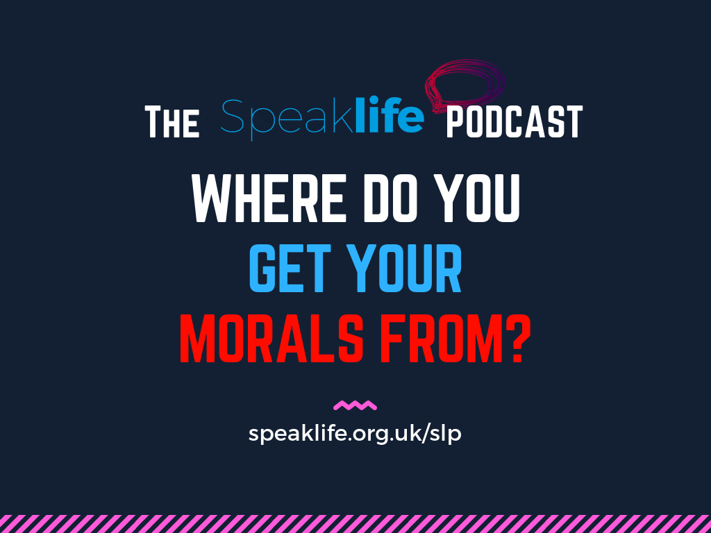 Where Do Your Morals Come From? LIVEcast – SLP222