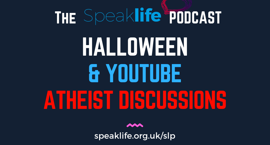 Halloween & YouTube Atheist Discussions LIVEcast – SLP225