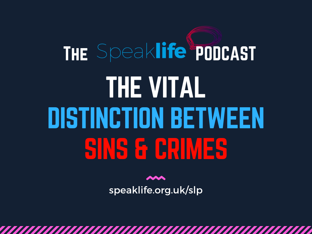 The Vital Distinction Between Sins & Crimes LIVEcast – SLP226