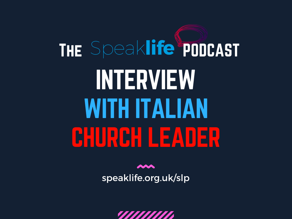 Interview With Italian Church Leader Mark Oden – SLP293