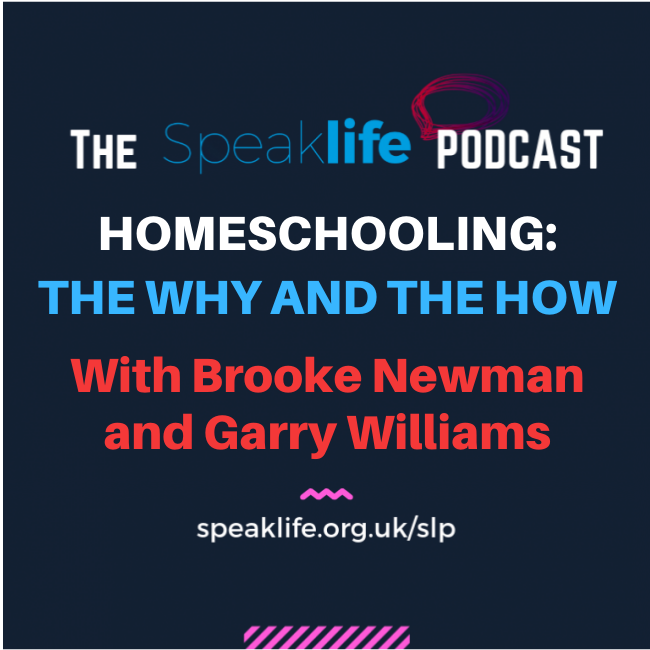 Homeschooling|| An Interview with Brooke Newman and Garry Williams || SLP298