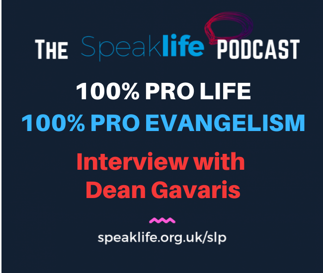 100% Pro Life — 100% Pro Evangelism|| An Interview with Dean Gavaris || SLP299